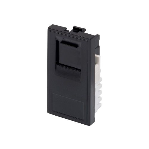 RT RJ11 Module (25mmX50mm) Black 09011